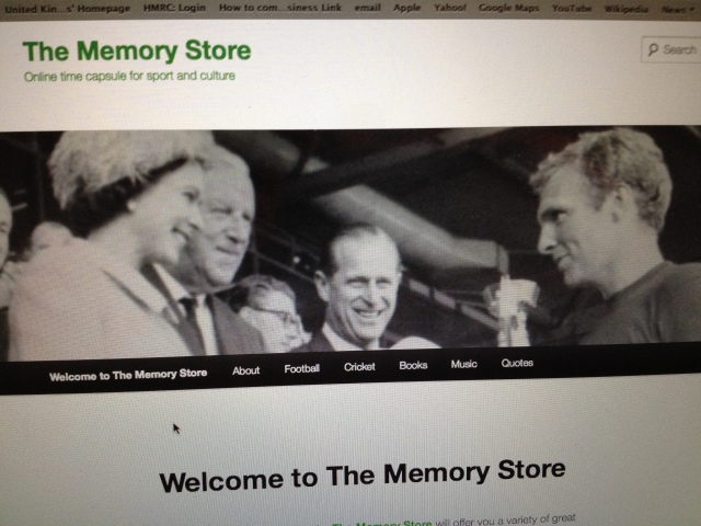Welcome to The Memory Store